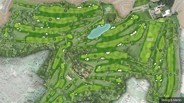 Stirling & Martin chosen to design new course in northwest Spain