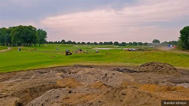Remodelling work under way at TPC Twin Cities ahead of PGA Tour event