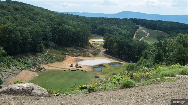 Construction work nears completion at McLemore Club