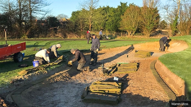 Dudsbury progresses with bunker rebuild following successful trial
