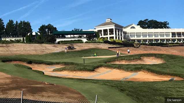 Dick grant golf course construction