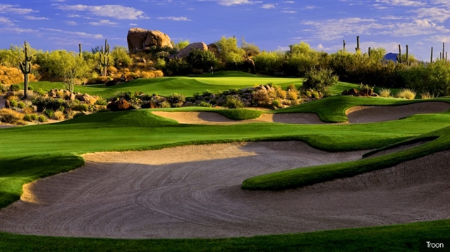 Pinnacle course at Troon North reopens with new greens and bunkers