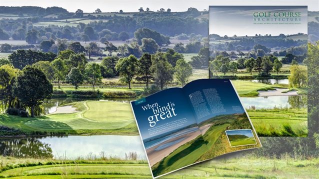The October 2018 issue of Golf Course Architecture is out now!