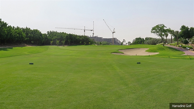 Harradine redesigns three opening holes at Jebel Ali