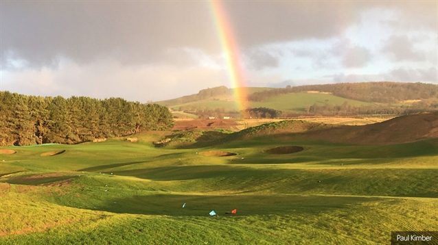 Rapid build for new Dumbarnie course