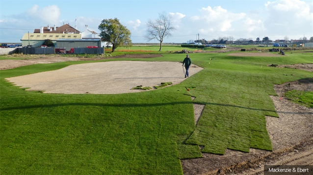 Mackenzie & Ebert designs new short game area for Royal Cinque Ports