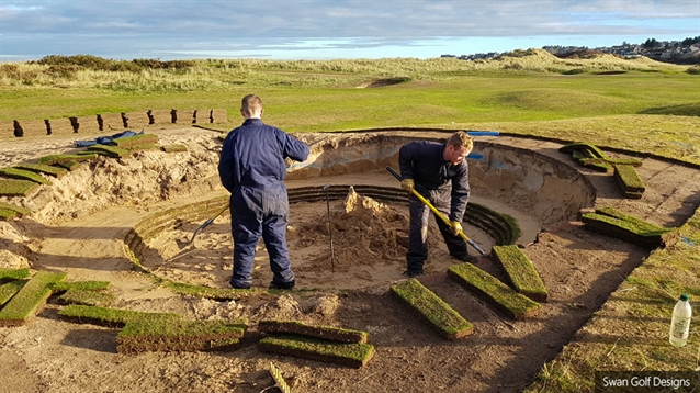 Swan Golf Designs completes third phase of work at Moray