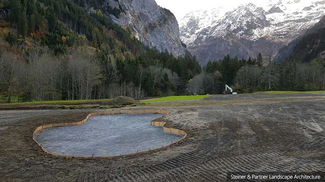 Steiner & Partner and (re)GOLF continue renovation at Engelberg