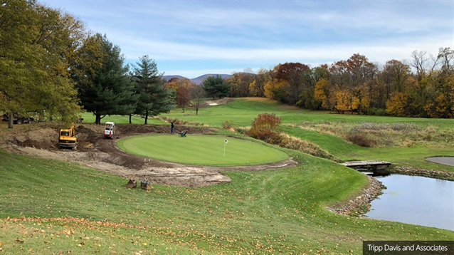 Powelton hires Tripp Davis for bunker restoration