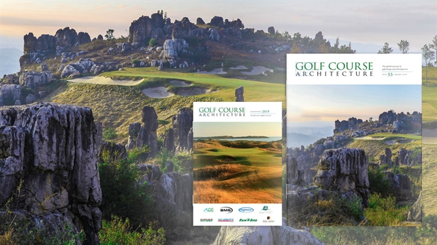 The January 2019 issue of Golf Course Architecture is out now!