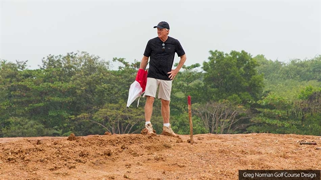 Norman's first course in the Dominican Republic takes shape