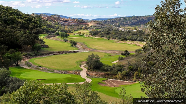 Ombria Resort: A course of two halves