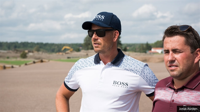 Henrik Stenson and Christian Lundin: To be honest...