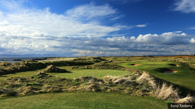 Martin Ebert oversees new work at Trump Turnberry's Ailsa course
