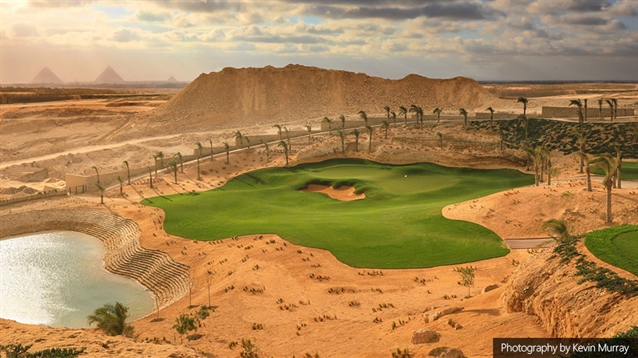 New course near Egypt's pyramids opens for play