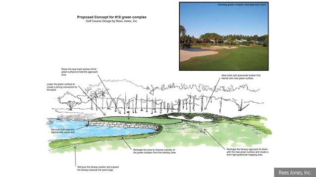 Rees Jones leads renovation of South course at BallenIsles