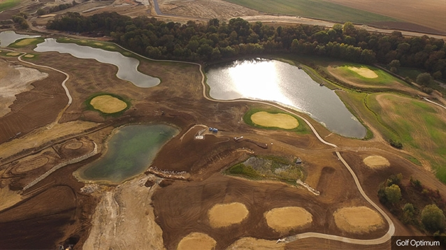Seeding work begins at new public course in Paris
