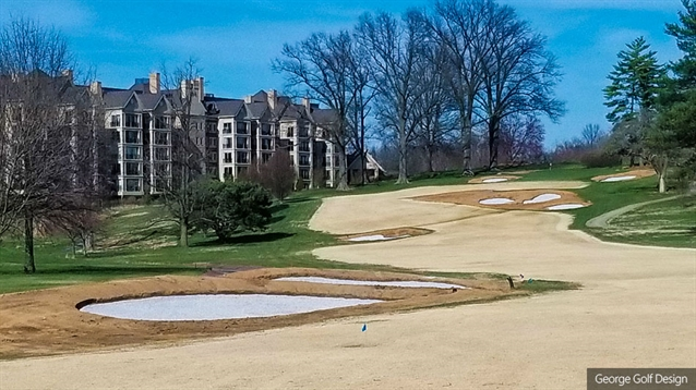 Lester George begins renovation of Audubon Country Club