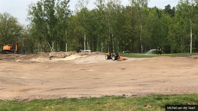 Spogárd & VanderVaart begins seeding work at Hilversumsche Golf Club
