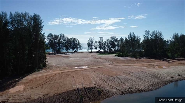 New 18-hole layout by Pacific Coast Design takes shape at Aquella