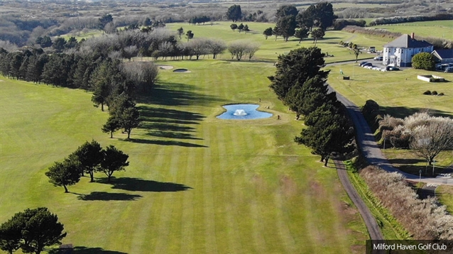 Milford Haven completes work on new eighteenth hole