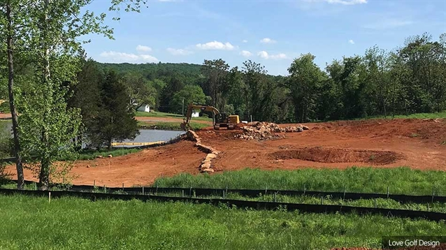 Love Golf Design's new Birdwood course takes shape at Boar's Head
