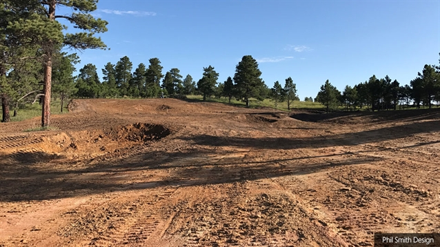 Construction progresses on new North course at Flying Horse