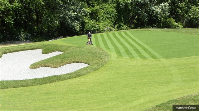 A. John Harvey reworks practice facilities at Rockland CC