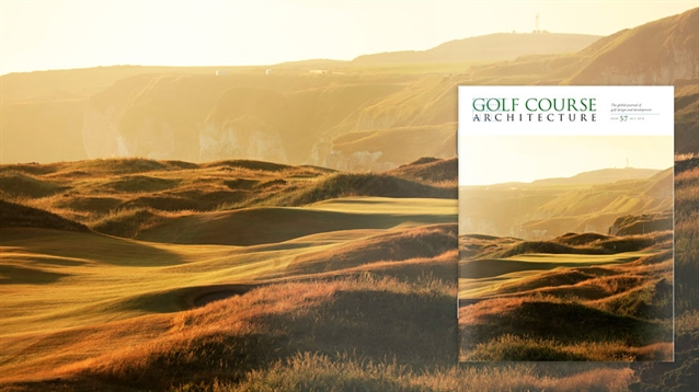 The July 2019 issue of Golf Course Architecture is out now!