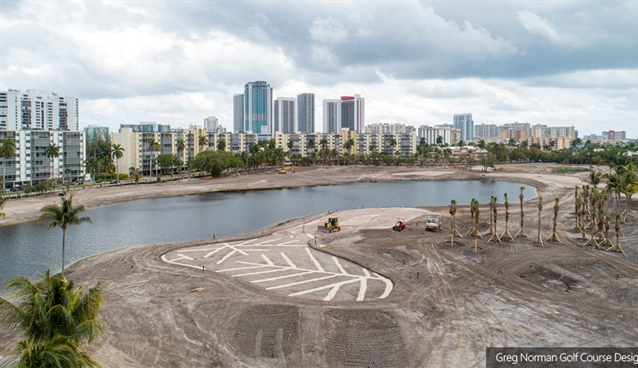 Construction nears completion at rebranded Florida club