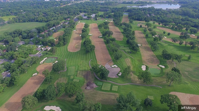 Minneapolis Golf Club begins re-grassing project