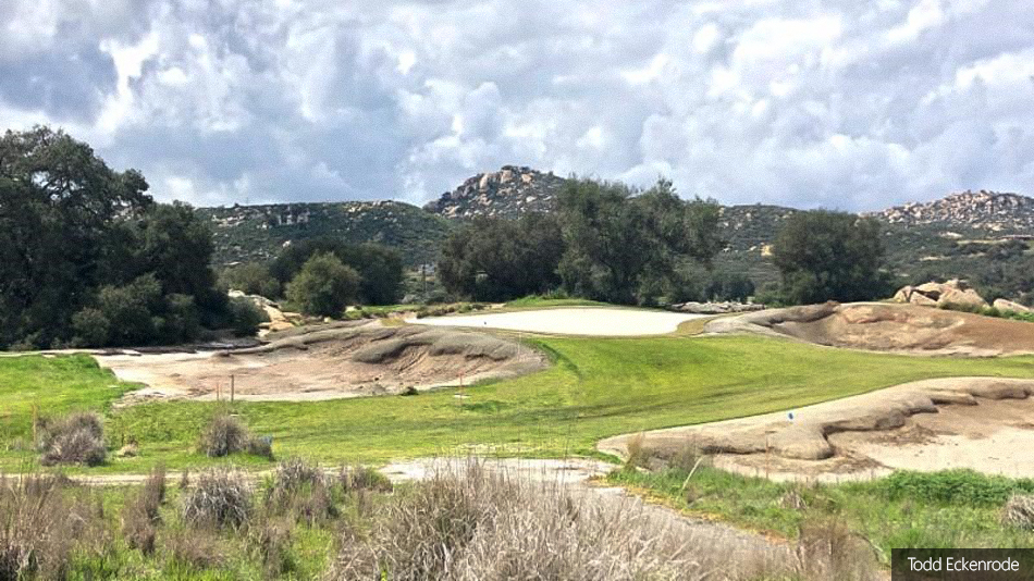 Eckenrode completes renovation work on back nine at Barona Creek