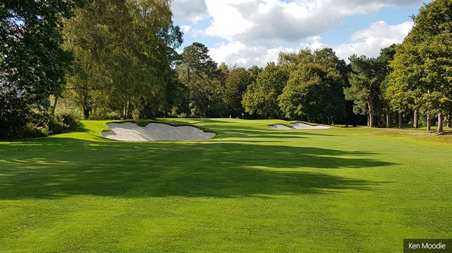 Moodie continues with bunker renovation at West Surrey