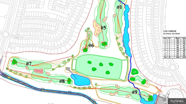 Construction begins on new Yas Acres golf course in Abu Dhabi
