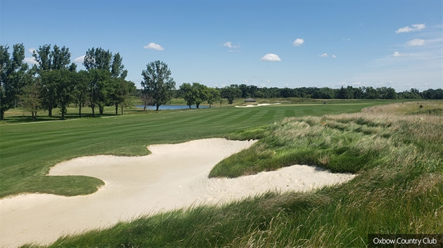 Oxbow CC opens rebuilt course following flood protection work