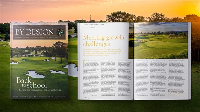 Fall 2019 issue of ASGCA's By Design magazine now available