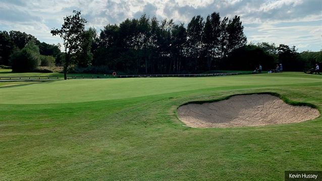 Handsworth opens three new holes following flood management project