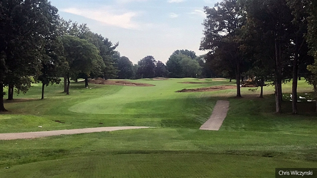 Chris Wilczynski begins renovation work at Warwick Hills
