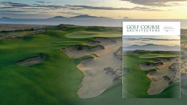 The October 2019 issue of Golf Course Architecture is out now!