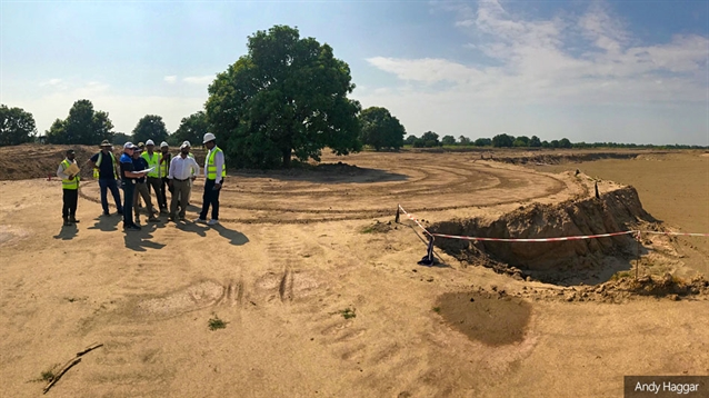 Construction advances at Faldo Design project in Pakistan