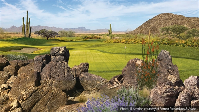 Richardson designs par-three layout for Arizona RV park