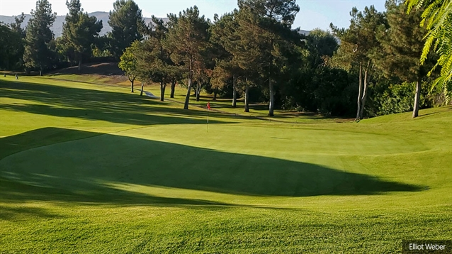 Casey O'Callaghan completes greens renovation at Yorba Linda