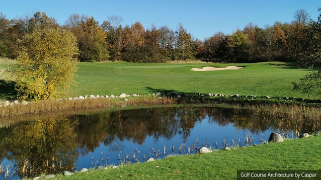 Caspar Grauballe completes bunker renovation at Hedeland