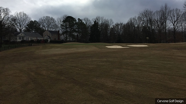 Cervone under way with bunker renovation at Raintree CC