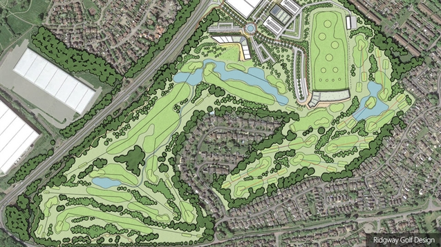 Ridgway creates new golf plans for SportsHub MK development