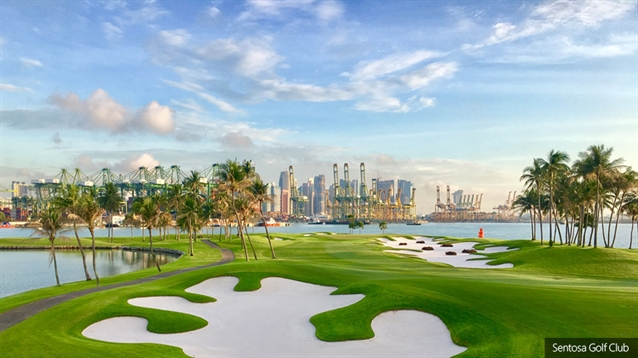 Andrew Johnston begins renovation of Sentosa's Serapong course