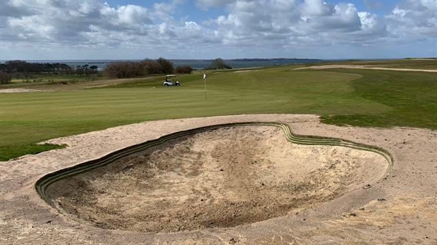 Johan Benestam begins bunker work at Landskrona