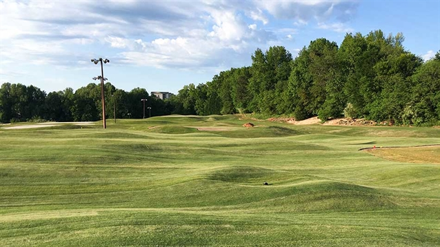 Jeff Lawrence transforms Greenville par three course