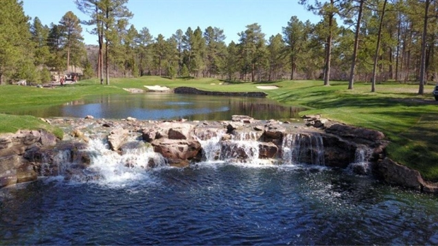 Jim Lipe completes renovation work on four holes at Castle Pines