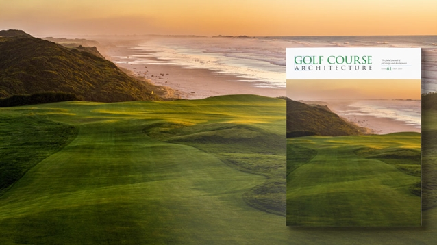 The July 2020 issue of Golf Course Architecture is out now!